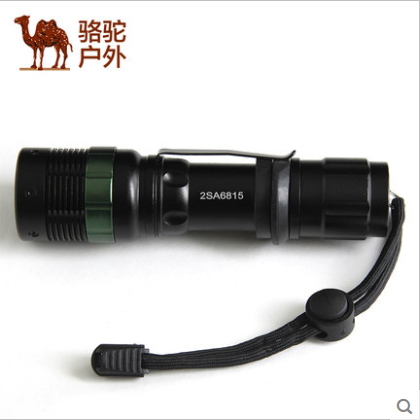 Baoyou camel outdoor cross-country mountaineering lighting strong light flashlight genuine riding charging 2sa6815