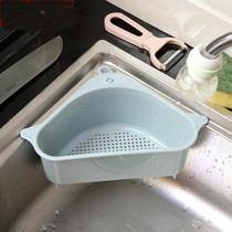 水槽沥水架洗菜盆家用沥水篮不锈钢厨房洗菜篮虑水篮碗碟架水池