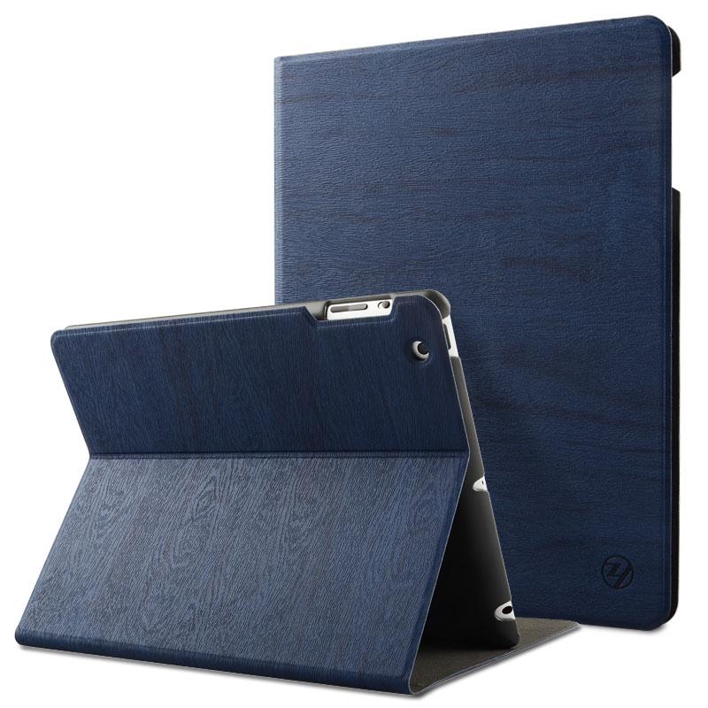 zoyu ipad4保護套超薄休眠韓ipad2保護套蘋果平板電腦ipad3保護殼