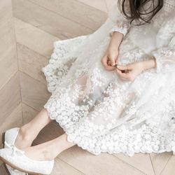 女童连衣裙秋装2020儿童夏季新款洋气童装中大童长袖公主蕾丝裙子