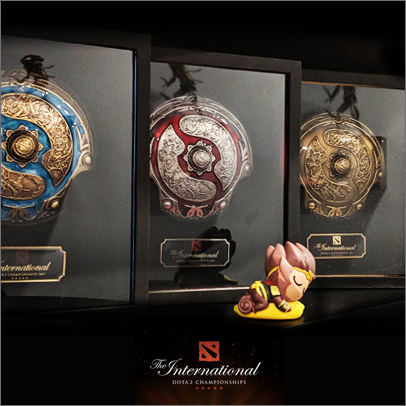 Dota2 champion shield immortal shield game peripheral handmade commemorative gift official product