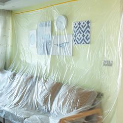 防尘布遮盖防灰尘家具保护一次性装修塑料膜家用沙发床遮灰罩盖布