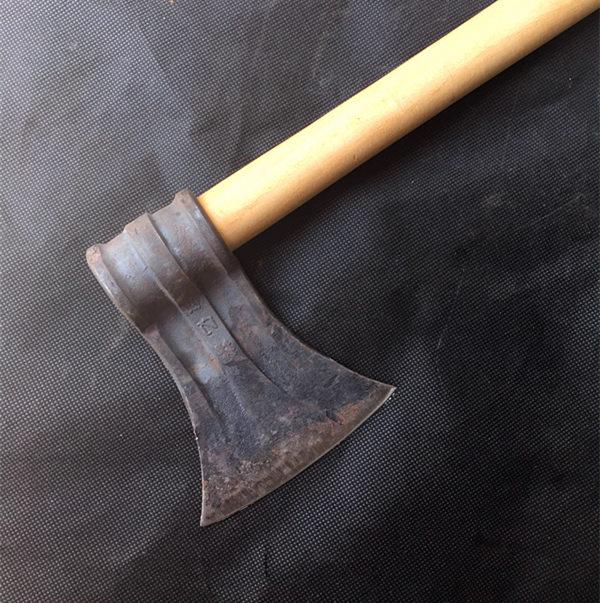 【小弹簧斧头】锰钢斧头小斧子户外开路斧手工锻打弹簧钢斧户外