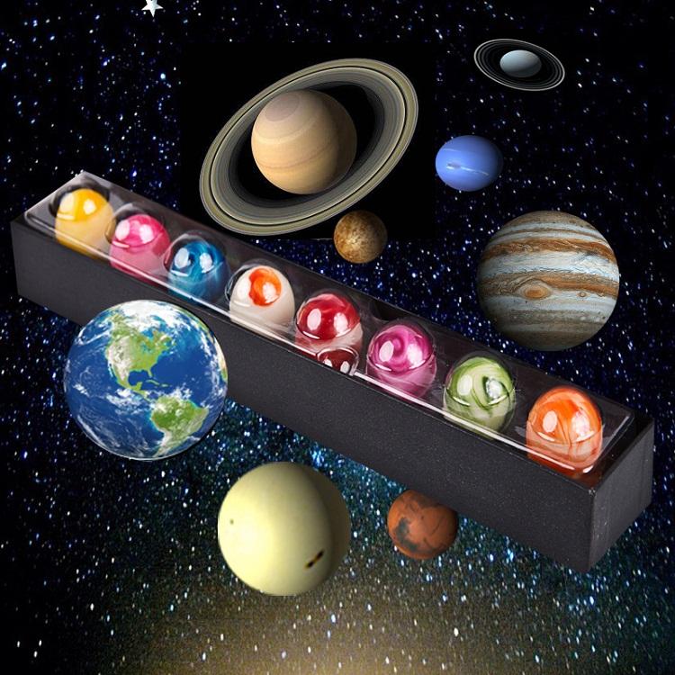 星球巧克力太阳系八大行星星空巧克力国庆中秋节礼物(代可可脂)