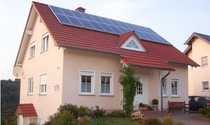 Bosin Factory Direct grid-connected household photovoltaic power generation system Solar distributed home system