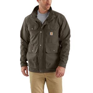 Carhartt男装夹克宽松舒适拉链外套户外休闲简约美国直邮103126