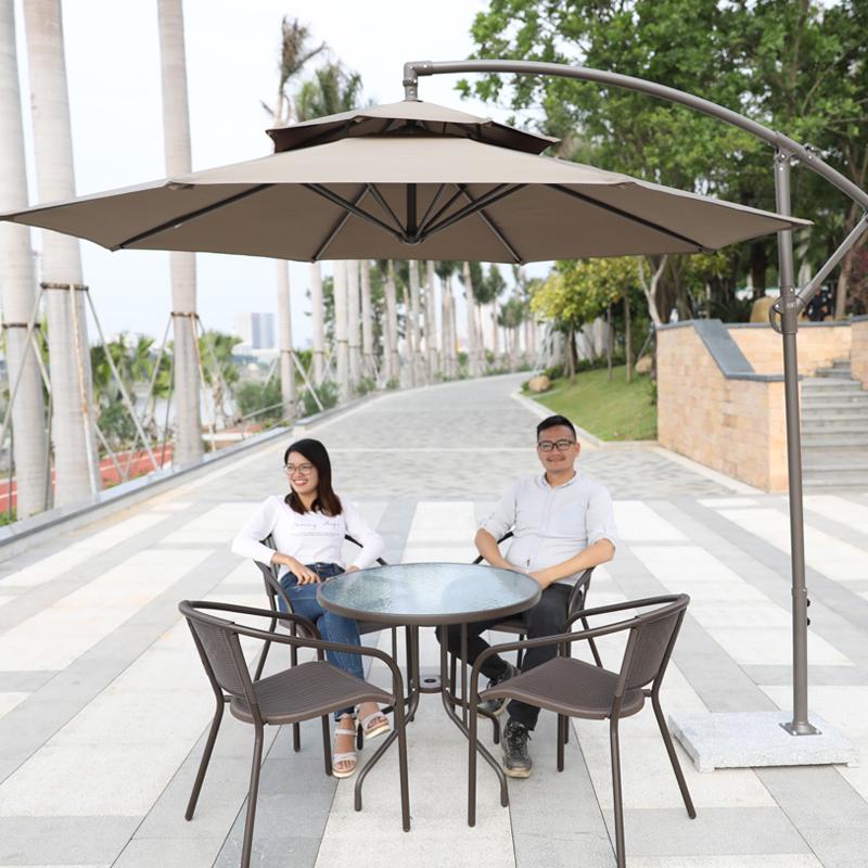 限1000张券户外室外香蕉伞遮阳大花园遮阳伞