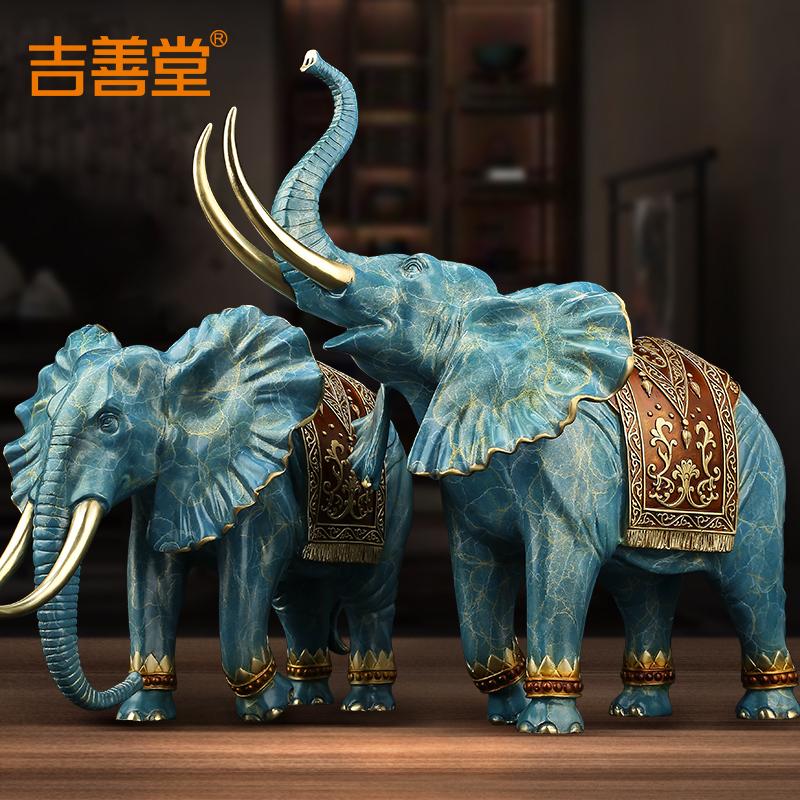 《吉象临门》全铜大象摆件家居客厅好用吗