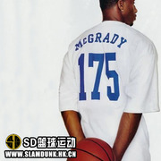 SD basketball short sleeve T-shirt Maddie 175 T-MAC Mcgrady McGRADY classic engraved