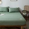 单件纯棉水洗棉席梦思防滑日式床笠质量怎么样