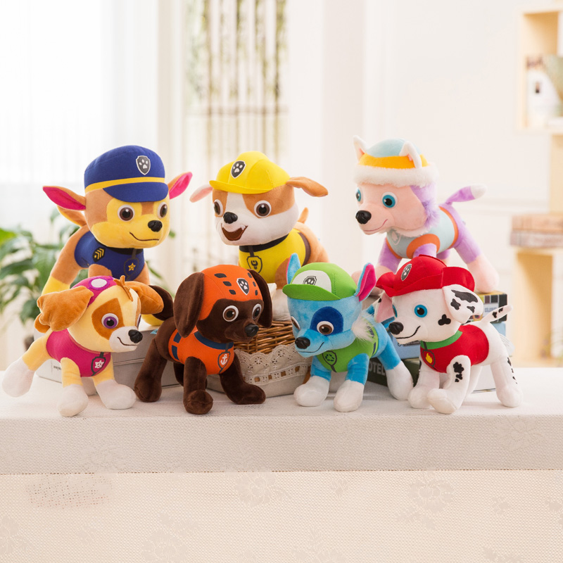 Plush toys Wangwang team doll doll doll dog patrol Archie Dagong Wangwang team doll boy gift