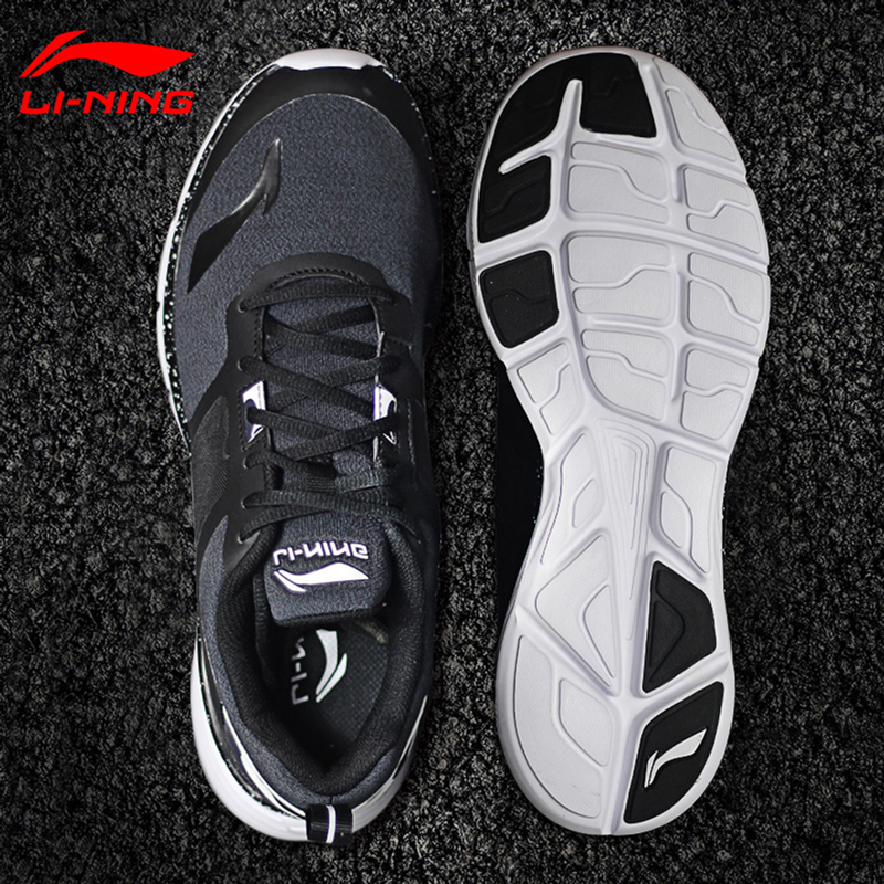 Li Ning shoes men's sports shoes men's shoes teen summer authentic breathable summer network shock absorption running casual travel shoes