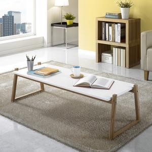 椅恋茶几简约客厅榻榻米日式北欧小户型茶几白色沙发矮长方形桌子