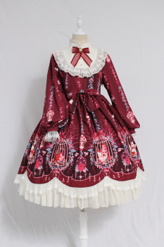 alice girl原创新款lolita op连衣裙