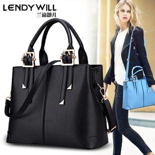 女士包包2021新款 时尚 百搭大容量单肩斜挎包中年女包手提包妈妈包