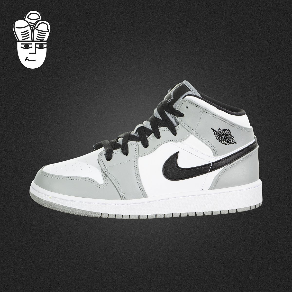 Air Jordan 1 Mid AJ乔1男鞋女鞋GS 中帮休闲板鞋 复古运动鞋