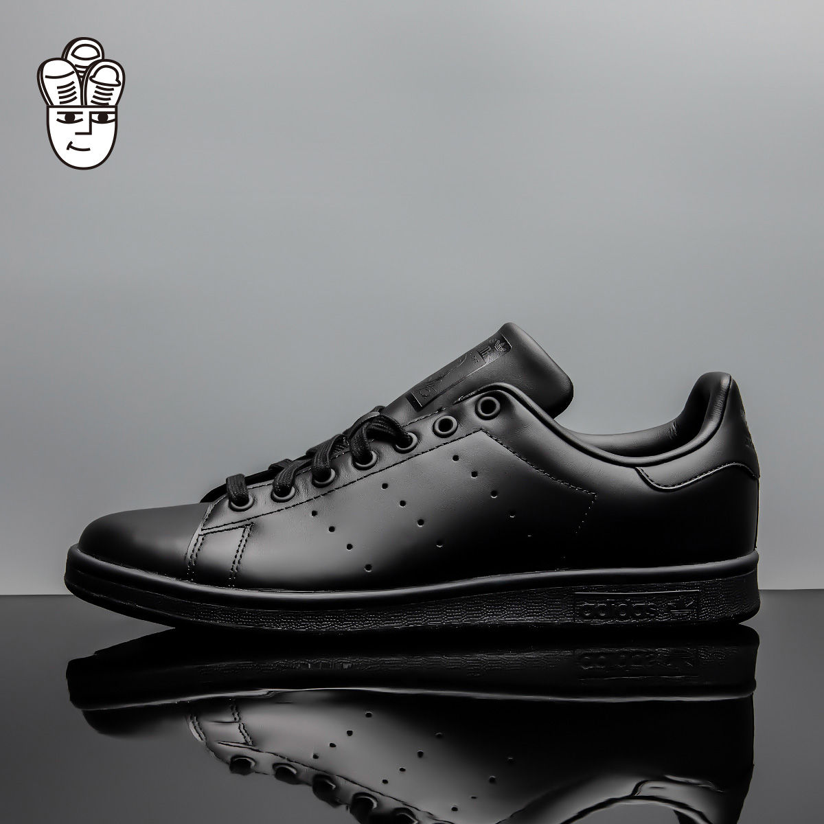 Adidas Stan Smith 三叶草男鞋 复古低帮板鞋 运动休闲鞋