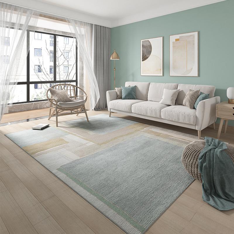客厅大面积轻奢风满铺卧室茶几垫质量如何