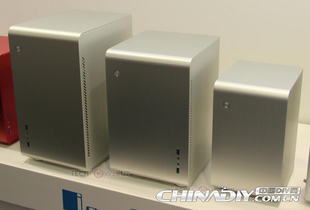 Qiao Sibo U2 MATX brushed aluminum chassis with power supply big fan panel USB3 0 mini chassis
