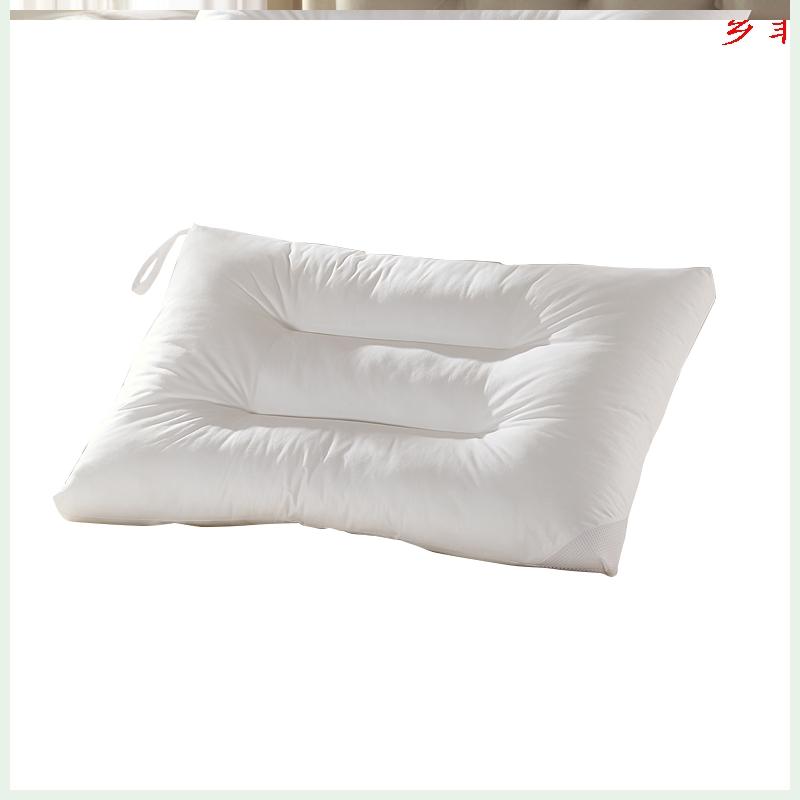 LOVO家纺枕头枕芯男女单人悬挂可水洗一对拍二成人学生宿舍枕头