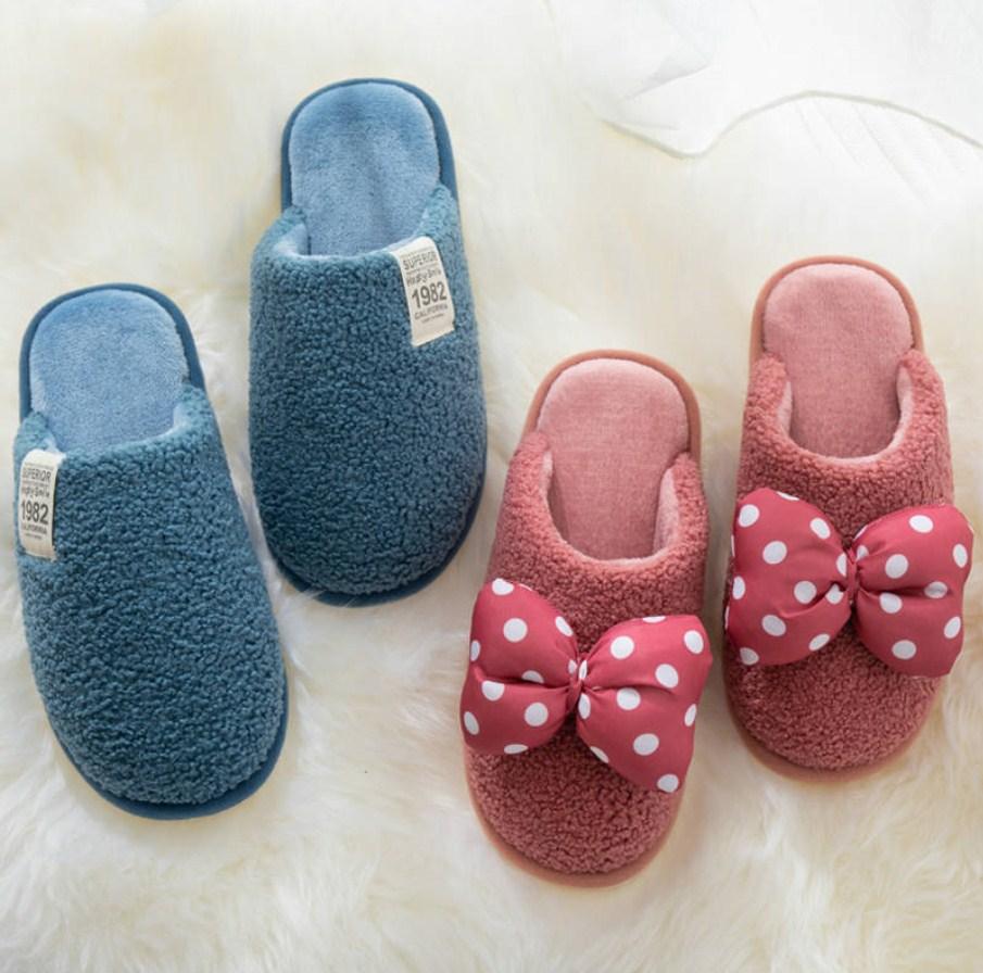 冬款拖鞋女家用秋冬公主风可爱少女心网红棉拖鞋保暖防滑居家室内