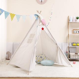 ins儿童帐篷印第安室内游戏屋公主玩具屋小房子宝宝礼物拍照道具