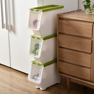 夹缝18cm宽厨房窄缝卫生间收纳箱