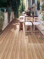 包邮佛山磁砖300600木纹仿古砖花园阳台露台地砖日式防滑耐晒墙砖