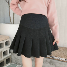 Half skirt for pregnant women in spring and autumn and winter