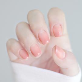指甲油裸色系显白透明指甲油免烤快干女持久可撕拉肉粉色裸粉色