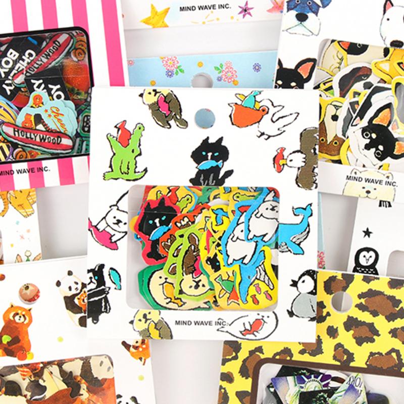 韩国创意卡通贴纸 手帐贴纸装饰贴纸diy相册手账手机装饰贴纸