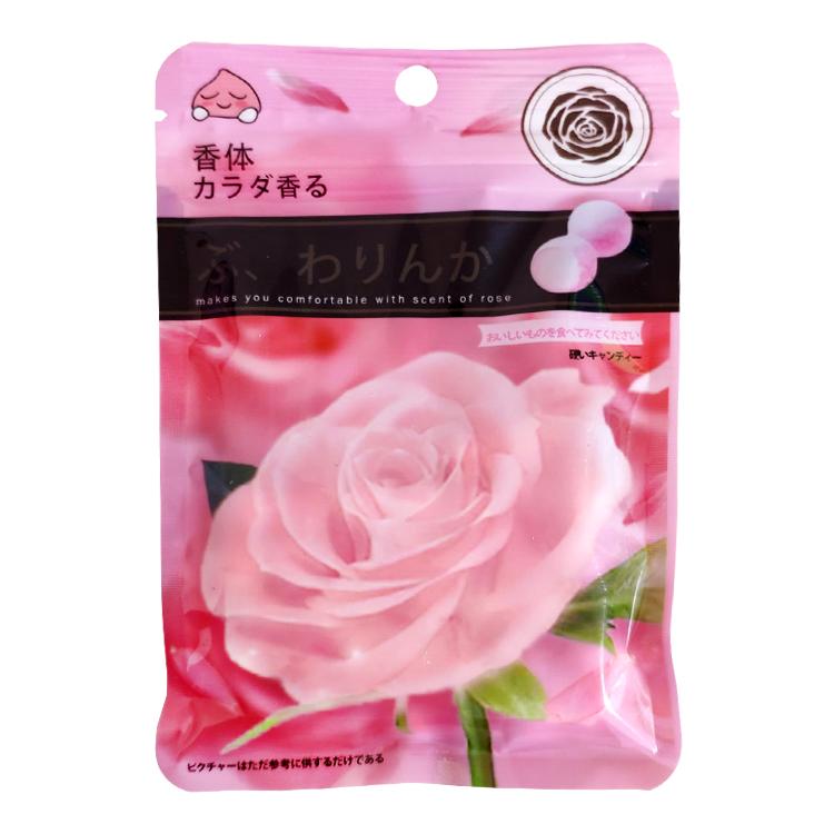 包邮香体糖玫瑰香味糖果柠檬香味糖果32g*10袋/盒 好吃美味的糖果