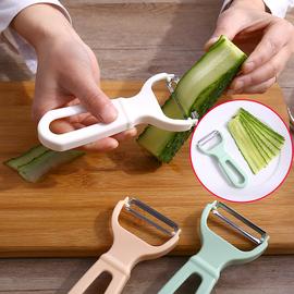 不锈钢削皮刀厨房多功能刨皮刀削苹果水果刨刀削皮器刮丝器刨丝器