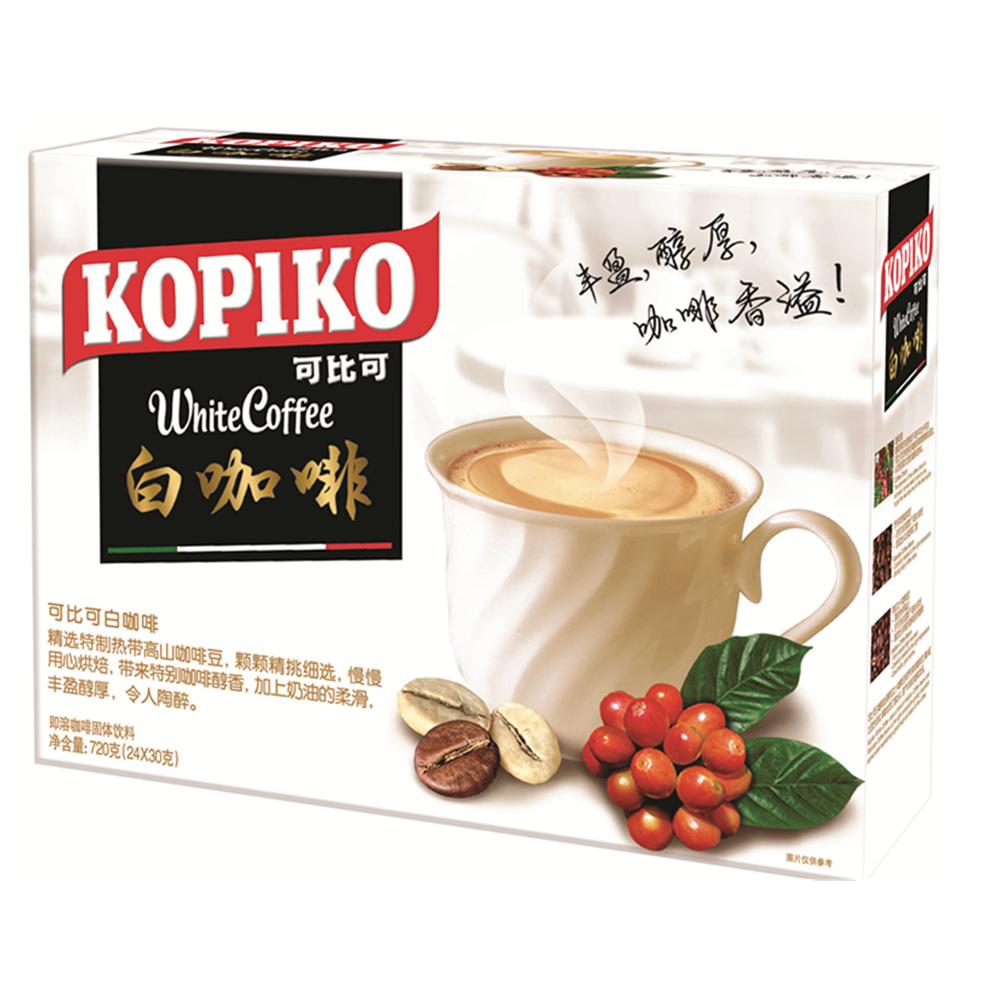 印尼 KOPIKO可比可白咖啡24包裝720g 盒分享裝