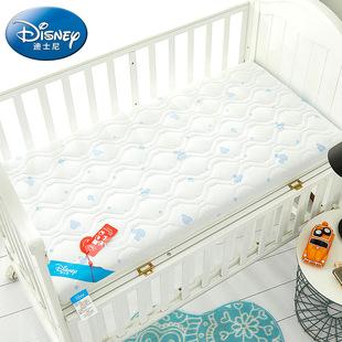 迪士尼婴儿床床垫天然椰棕新生儿宝宝儿童乳胶床垫冬夏两用可定做