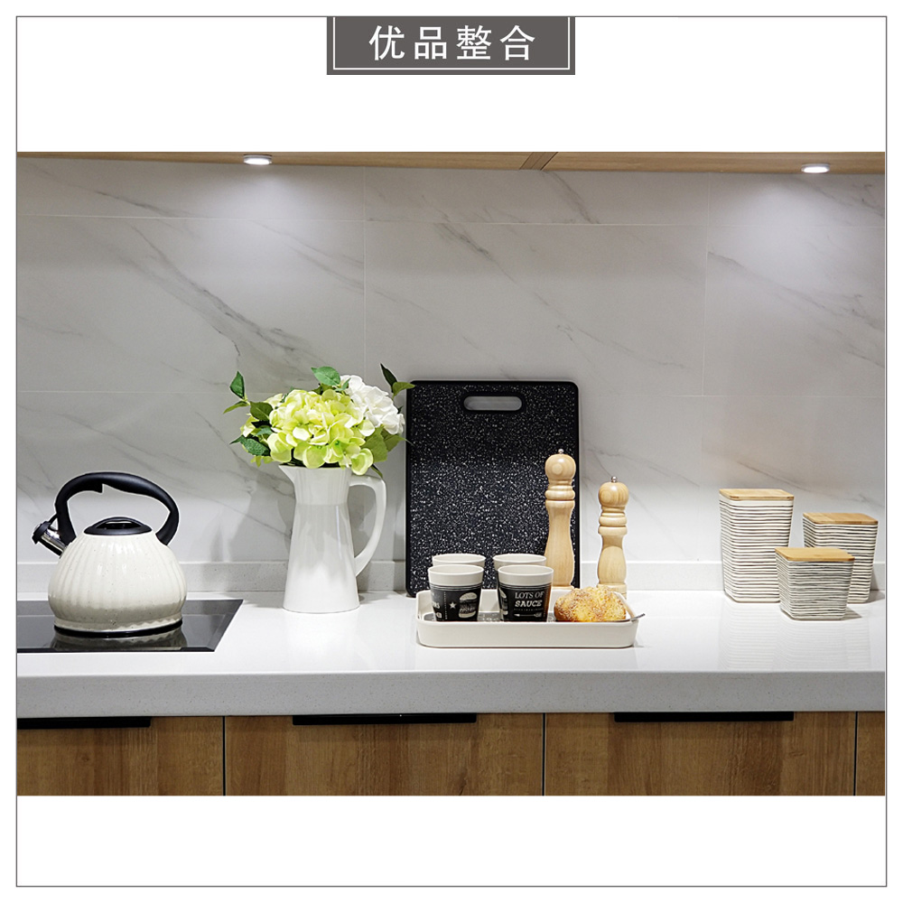 Modern model room kitchen creative home Nordic soft decoration simulation flower sealed can tray combination zh1960