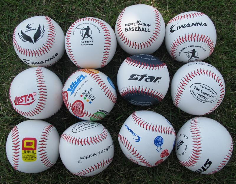 Бейсбол движение статьи ручной шов нить жесткий стиль мягкий стиль твердый небольшой студент практика тест тест практика обучение база мяч