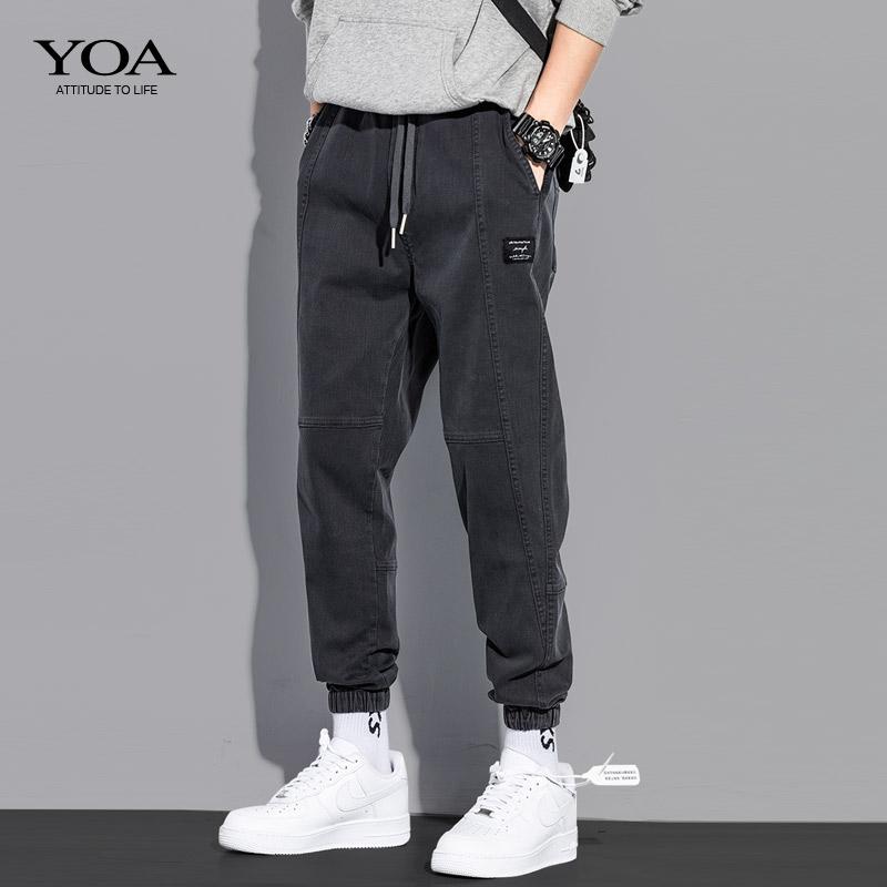 yoa春季潮牌潮流韩版宽松牛仔裤好不好