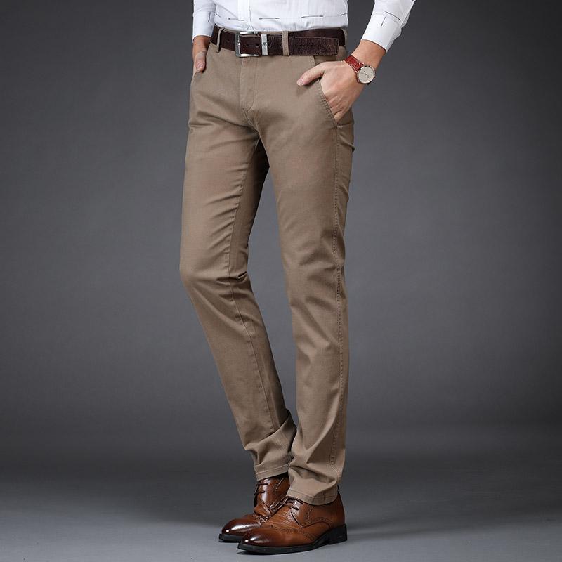 吉普盾薄款商务宽松直筒裤休闲裤包邮