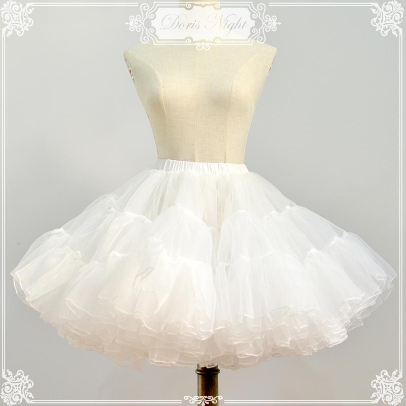 桃乐丝DorisNight小云朵Lolita16米超暴力A玻璃欧根纱衬裙撑定制
