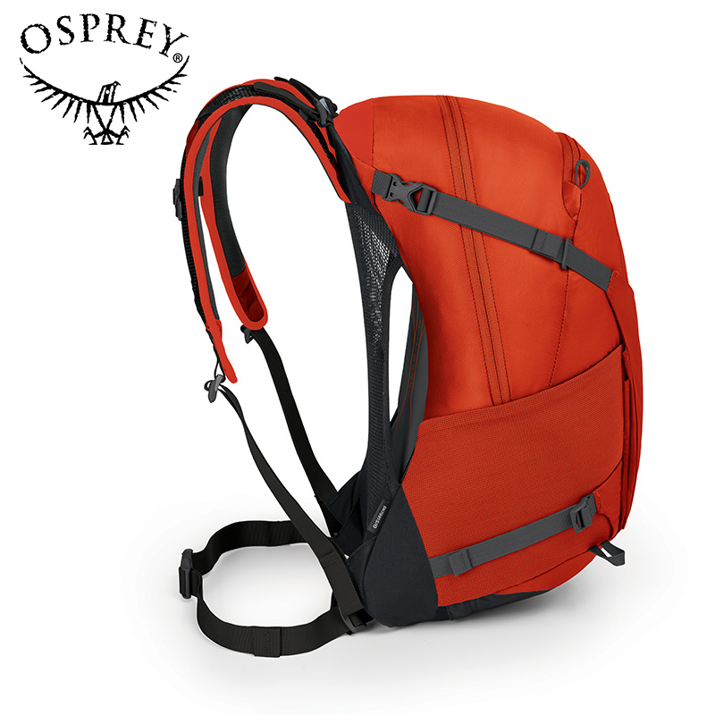 OSPREY HIKELITE SERIES Hacking customers outside Kitty Backpack men and women hiking backpack