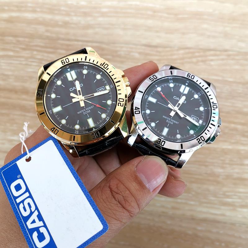 Authentic limited quantity Casio Watch mens luminous blue water ghost steel dark heart non mechanical quartz mens Watch