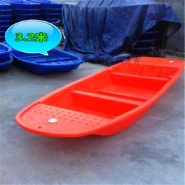 养殖塑胶渔船抓鱼pe小船捕鱼塑料船滚塑一次成型经久耐用价格好图片