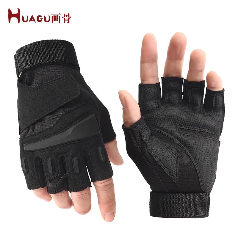 Мужские перчатки без пальцев Артикул 600520211819