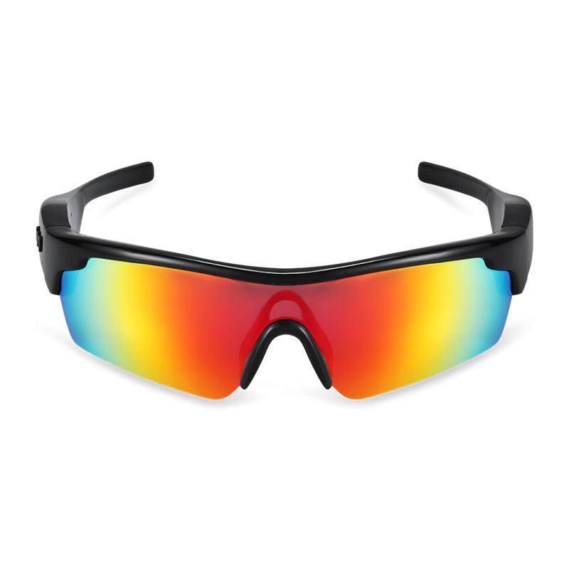 广百思智能蓝牙K06骑行运动墨镜 户外休闲太阳镜