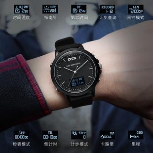 智能男士 手表防水特种兵2021新款 休闲运动学生多功能机械电子表女