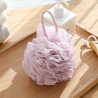 Купальный шарик для купания взрослый большой банный цветок купальный обратно на младенца детские Ванна втирающая пена чистая ванна, туалетные принадлежности