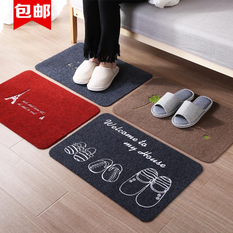家用进门地垫浴室防滑垫子厨房吸水脚垫入户门垫洗手间卧室垫子