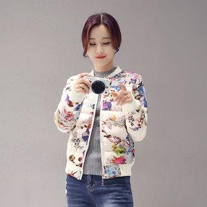 棉衣女短款2020秋冬新款女士百搭韩版修身小棉袄棒球羽绒棉服外套