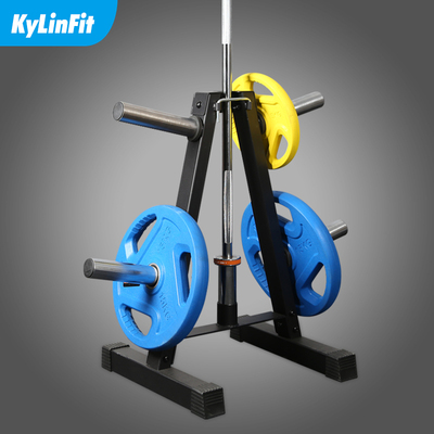 Triangle barbell shelf set placement rack storage rack household rack bracket commercial indoor gym sports